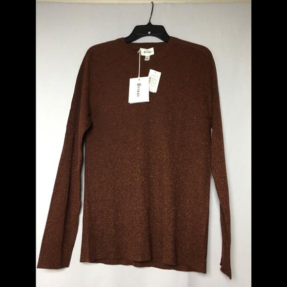 BRIONI Other - BRIONI ItalianMade Snug WoolBlend Metallic Sweater